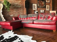 Red sectional sofa Los Angeles, 90065