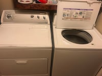 Whirlpool HE Washer and Dryer Set Dallas, 75251