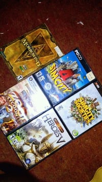 assorted Nintendo Wii game cases Winnipeg, R2Y 1V2