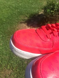 Pink UV Nike Air Force One Size 9 Oxford, 45056