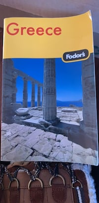 Gently used fodors Greece travel book Alexandria, 22311