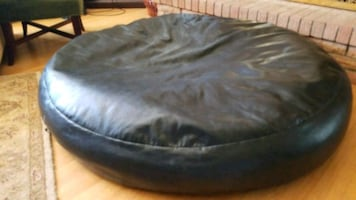 60 Inch Leather floor pillow