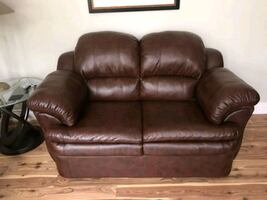 Bonded leather Sofa, Chair, and Loveseat