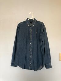 Polo ralph denim button-up Vancouver, V5L 1K9