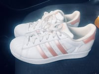 Adidas Rose Gold Superstar Shoes  Silver Spring, 20906