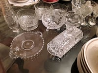 Collection of ANTIQUE/VINTAGE CRYSTAL PIECES   Mississauga, L5J 2E5