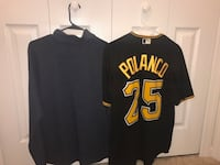black and yellow New York Yankees jersey shirts Carnot, 15108