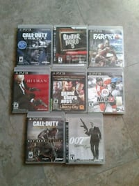 8 ps3 games 60$ Buckingham  Gatineau