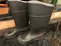 Snow and Rain Rubber Boots Size 7