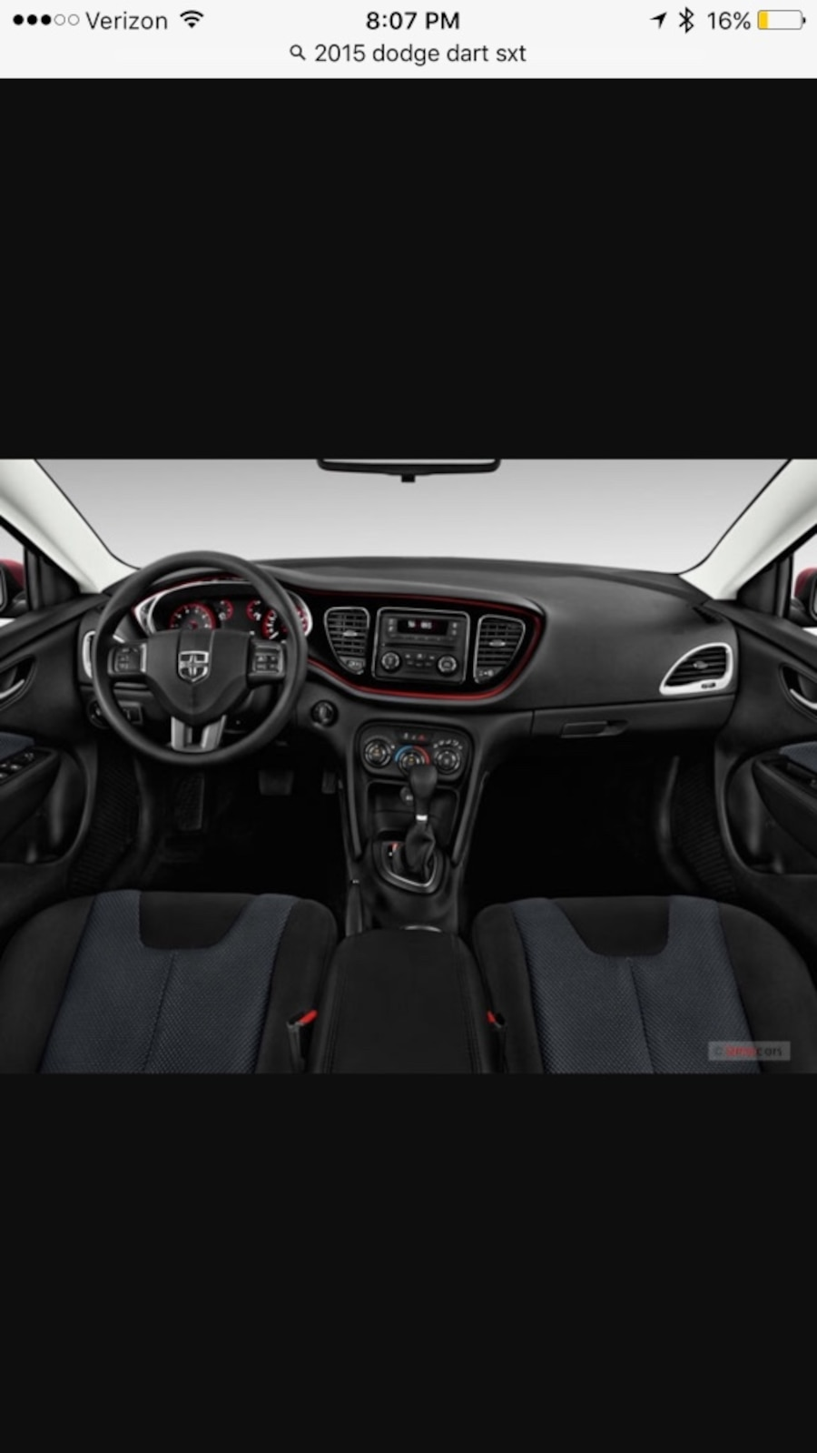 used dodge dart sxt 2015 in enterprise. Black Bedroom Furniture Sets. Home Design Ideas