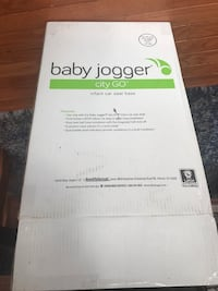 Baby jogger city go car seat base Fairfax, 22032