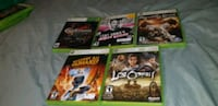 Xbox 360 games 30$ each Waterloo, N2J 2A2