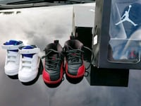 two pairs of Air Jordan basketball shoes Sterling Heights, 48310