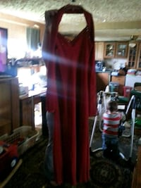 Long red dress Size Large Newry, 16665