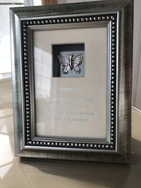 Grandma glass butterfly keepsake NEW Edmonton, T6H 3A8