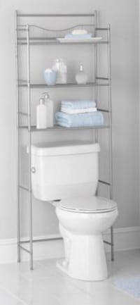 3-Shelf Bathroom Over-the-Toilet Space Saver Charleston, 29414