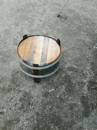 Wine barrel tables  Penticton