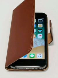 Brand New iPhone 6/6S Leather wallet case  $10 Edmonton, T5T 1M9