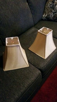 Lampshades , $10 for both, good condition.