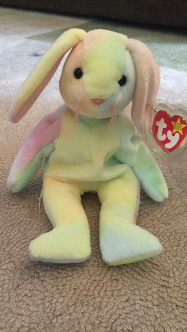 3df09e35494 Used Ty Beanie Baby Hippie the Bunny Rare for sale in Brookfield ...