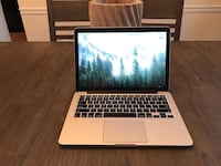 MacBook Pro Retina Display 13-inch early 2015 i7 Processor 512GB SSD 16GB Ram Manassas