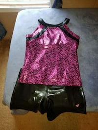 Cheer try outs outfit New Boston, 75570