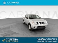 2018 Nissan Frontier Crew Cab pickup SV Pickup 4D 5 ft Silver