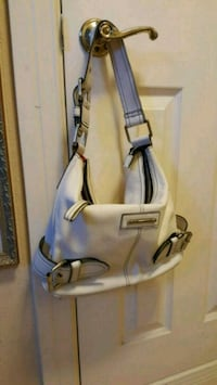 gray and blue leather shoulder bag El Paso, 79932
