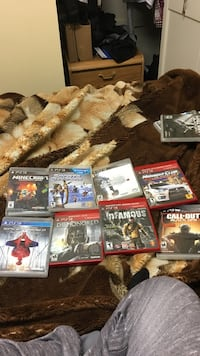 Assorted ps3 game cases