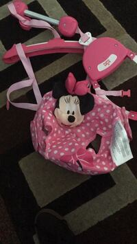 red and white Minnie Mouse plush toy Garden Grove