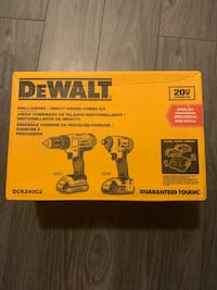 Dewalt two tool combo kit