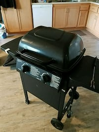 mini BBQ it comes with brand new cover