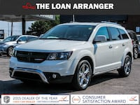 2017 dodge journey crossroad with 20,316km and 100% approved financing Toronto
