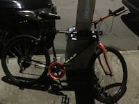 black and red hardtail bike New York, 10305