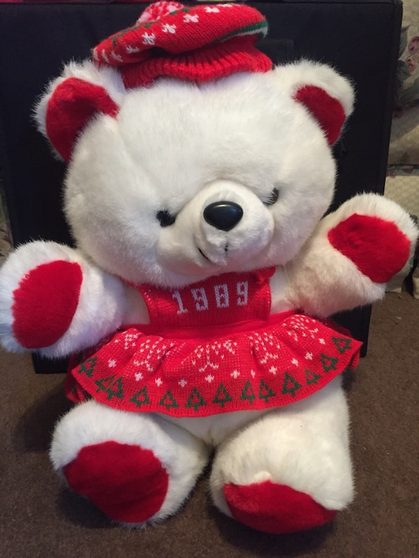 Used 1989 Kmart Christmas Bear for sale in Canton - letgo