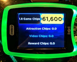 Dave & Buster's Tickets: 61,600