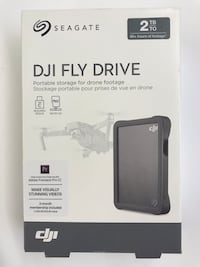 NIB Seagate DJI 2TB Portable hard dribe-USB Co