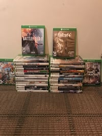 A bundle of Xbox games. 4 xbox one games and 27 Xbox 360 games Toronto, M1C 3X7
