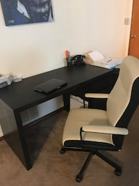 Office desk plus a side table and the chair  Colorado Springs, 80920