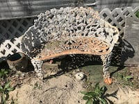 Cast Iron Yard Furniture  Garden Benchs and Chairs. Price for each