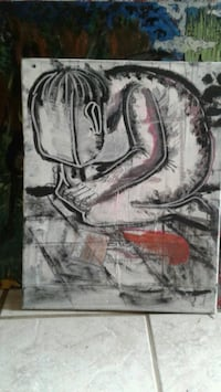 Painting sold by artist Independence, 64050