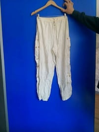 White and gold jingle pants Queens, 11369