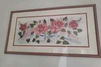 white and red flowers painting Parsippany-Troy Hills, 07034