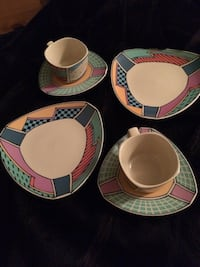 Rosenthal porcelain cups. saucers and dessert plates Whitby, L1N 9V4