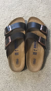 Birkenstock brand new sandals chocolate brown and leather  Panama City, 32405