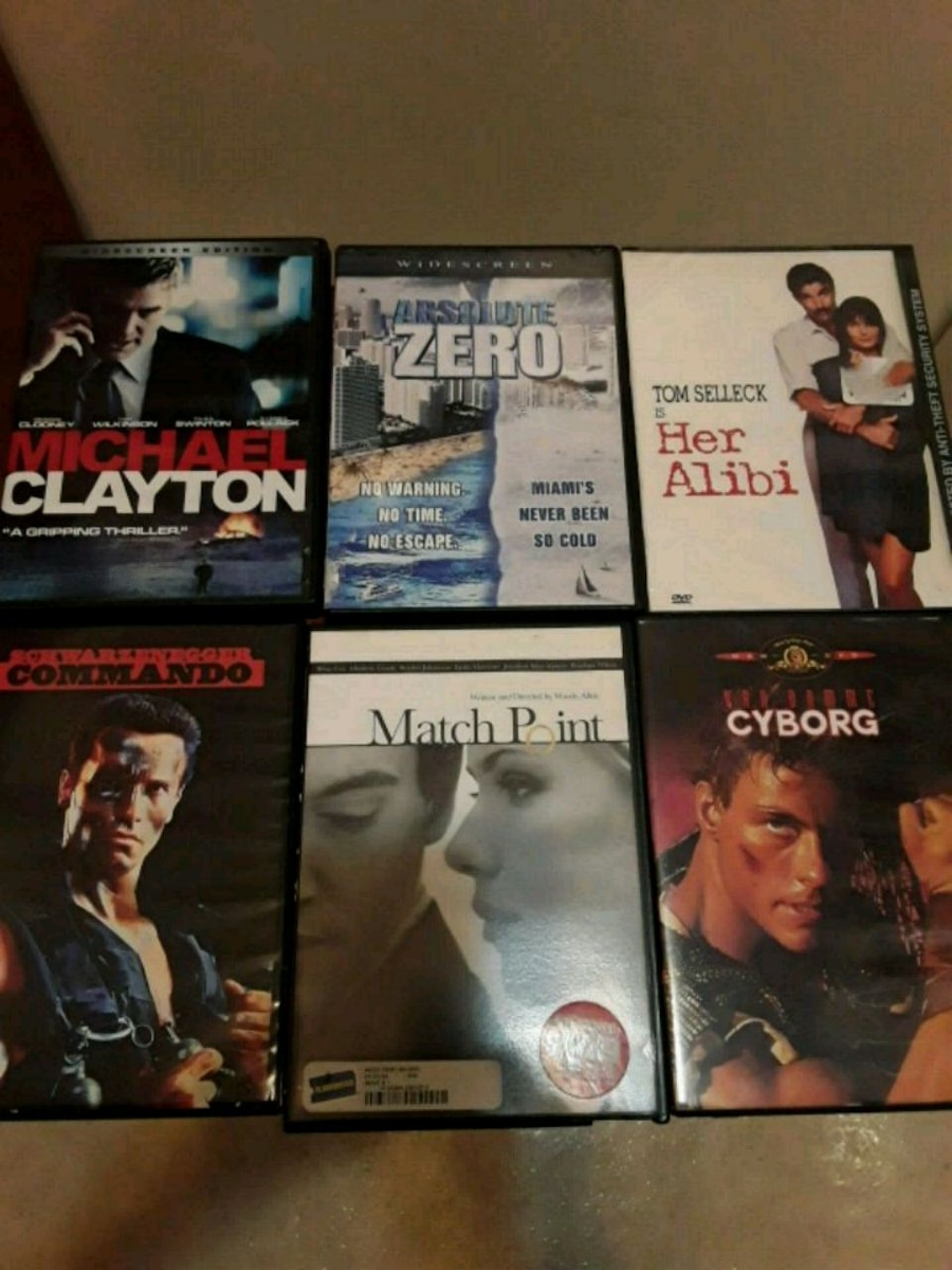Photo ASSORTED DVDS 5 DOLLARS EACH TOO MANY TITLES TO LIST