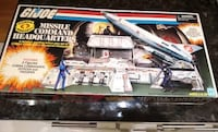 2017 SDCC San Diego Comic Con 2016 Cobra Missile Command Headquarters BRAND NEW!  BRAND NEW 2016 Cobra Missile Command Headquarters.  Comes with the headquarters and 3 figures. Cobra Commander , cobra officer and cobra trooper.  Purchased at the 2017 SDCC Toronto