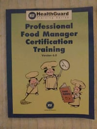 Professional food manager certification training, version 6.0