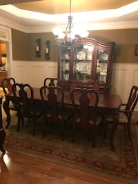 brown wooden dining table set Cartersville, 30121