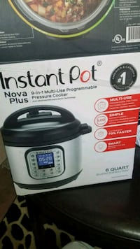 Instant pot nova plus 9 in 1 multi-use programmabl Hawthorne, 90250